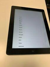Apple iPad 4th Gen 16GB Black Wi-Fi Unlocked AU Stock - Cracked Screen