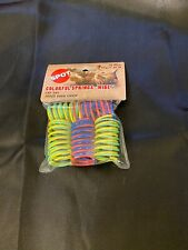Spot Colorful Springs Wide 10 Pack Cat Toy