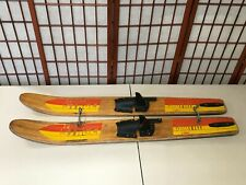 "Vintage Ebonite Junior sized Water Skis (48"" long)"