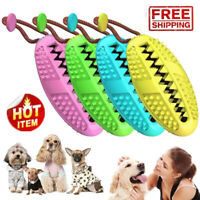 Dog Toothbrush Chew Stick Cleaning Toy Silicone Pet Brushing Oral Dental Care HU