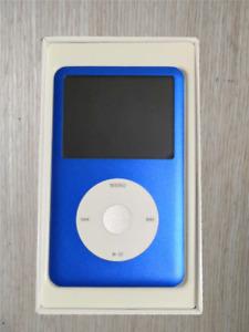512GB SSD Flash Custom Apple iPod Classic 7th Gen Blue - Big Battery