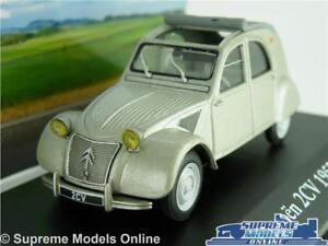 CITROEN 2CV MODEL CAR 1:43 SCALE 1952 IXO GREY VOITURES MYTHIQUES K8