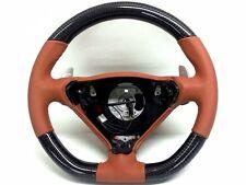 Porsche 996 986 T96 steering wheel carbon conversion Turbo C4S Cinnamon Brown