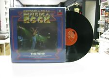 THE WHO LP SPANISH HISTORIA DE LA MUSICA ROCK 37. 1982