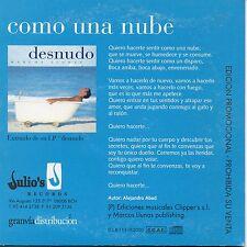 """MARCOS LLUNAS """"COMO UNA NUBE"""" PROMO CDSINGLE / DYANGO -EUROVISION ALEJANDRO ABAD"""