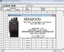 KENWOOD KPG-58D v1.0 Program Software for TK-290-11B (German Version)