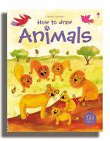 How to Draw Animals (Usborne Activities) By Fiona Watt