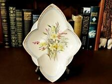Art Deco Period Hand Painted Nibbles Dish - Empire Ware England : country decorative plates - pezcame.com