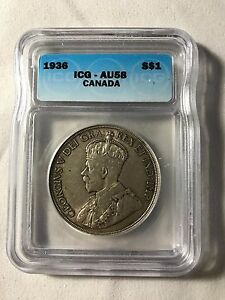 1936 Canadian $1 Coin (C232)
