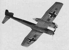 BLOHM und VOSS BV 141 B, Verbindungsflugzeug. Modellbauplan mit DXF DWG Dateien