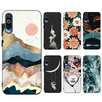For Xiaomi Mi 9T 8 A2 Lite Silicone Painted Soft Matte Slim TPU Back Case Cover