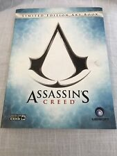 Assassins Creed Limited Edition Art Book Hardcover With Dust Jacket