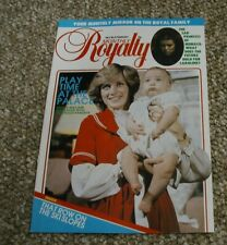 Royalty Monthly Magazine Volume 2 No 8 February 1983. Princess Diana