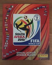 Panini World Cup 2010 Complete Beautiful Condition UK Edition