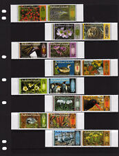 FALKLAND ISLANDS  2012-15, COLOUR IN NATURE, SERIES 1 - 4, COMPLETE, MNH