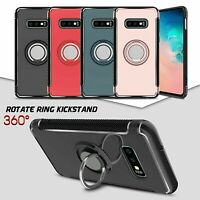 Ring Case S10 / S10e / Plus Shockproof Kickstand Hard Cover For Samsung Galaxy