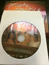 Private Practice - Season 1, Disc 2 REPLACEMENT DISC (not full season)
