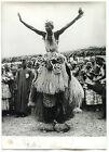 Photos Afrique - Danse - Masque - tirage argentique d'époque - 1960