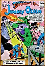 """SUPERMAN'S PAL JIMMY OLSEN COMICS #84 (1965) """"JIMMY OLSEN'S MONSTER MOVIE!"""""""