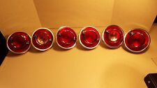 65 1965 Chevy Impala Rear Tail Light,Back Up Housing Complete Lens Assembly Set