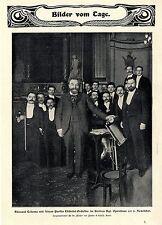 Edouard COLONNE avec son parisien Châtelet orchestre à Berlin bildd. 1901