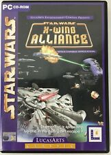 Star Wars X-Wing Alliance - LucasArts Classic 2001 2 Disc PC CD-Rom Game - New
