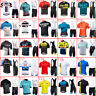 2019 Men Cycling Jersey Set Bike Shirt Bib Shorts Kit Short Sleeve Sport Uniform