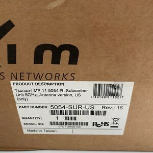 Proxim Wireless Networks Tsunami MP.11 5054-SUR Subscriber Unit 5GHz, US Only