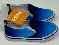 NEW Gymboree Blue Sneaker Slip On Tennis Shoes Toddler Boys NWT