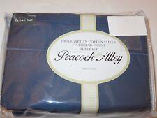 Peacock Alley 4P King Sheet set 450tc Egyptian Cotton Blue