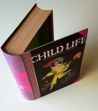 Vintage Secret Storage Book Box - CHILD LIFE Childrens Book - 50yrs old - UNUSED