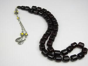 Faturan German Islamic Prayer 33 Beads Rosary Tasbeeh W11 * H13mm فاتوران الماني