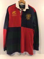 Polo Ralph Lauren RL Jockey Club Long Sleeve Shirt - County Riders Mens Size Med