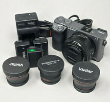 Sony Alpha A6000 24.3MP Digital Camerawith 16-50mm Lens - 442 Clicks