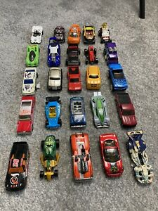 Hot wheels job lot bundle 25 cars good condition