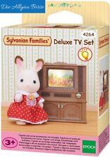 Sylvanian Families 4264 Luxus Farbfernseher TV Fernseher  2924 Epoch Neu OVP