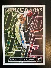 Russell Westbrook 2019-20 Donruss tarjeta de baloncesto NBA jugadores completa #12