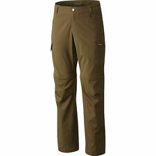 Columbia Convertible Pants Sportswear Silver Ridge Peat Moss Mens 54 x 32