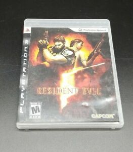 Resident Evil 5 (Sony PlayStation 3, 2009) tested and working