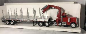 PETERBILT MODEL 379 Stake Truck Self Loading Cab 1/32 MIB Great Find Tr11