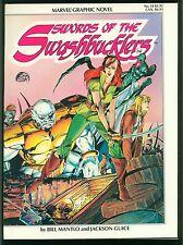 Marvel Graphic Novel #14 ~ Swords of Swashbucklers ~ Near Mint 1984