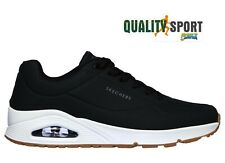 Skechers Uno Stand On Air Scarpe Shoes Uomo Sportive Sneakers 52458 BLK 2020