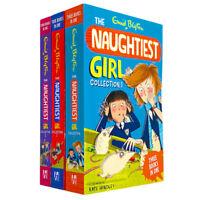 Enid Blyton The Naughtiest Girl 3 Books Collection The Naughtiest Girl Brand NEW