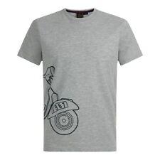 Magliette da uomo grigie Merc taglia XXL