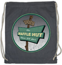 The Waffle Hut I Turnbeutel Fargo Diner Restaurant Bar Sign Logo Symbol