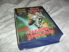 IRON MAIDEN -MAIDEN ENGLAND- AWESOME VERY RARE LTD EDITION CD+VHS BOX SET SUPER