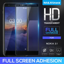 Full Cover Tempered Glass Screen Protector F Nokia 6.2 7.2 7.1 5.1 3.1 6 6.1 7 8