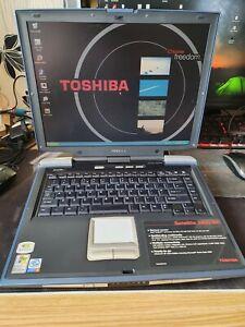 Retro Vintage: Toshiba Satellite 2450-101 Win XP Laptop