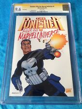 Punisher Kills the Marvel Universe 3rd print - CGC SS 9.6 - Signed by Ennis