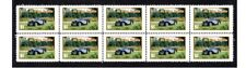 MG N-TYPE MAGNETTE AUTO ICON STRIP OF 10 MINT VIGNETTE STAMPS #3